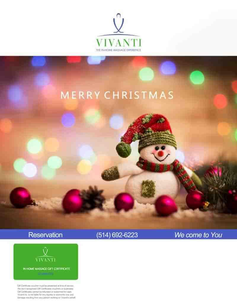 MERRY CHRISTMAS - Vivanti