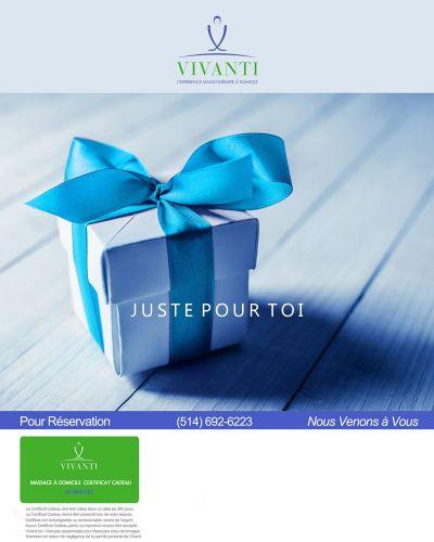 Juste pour Toi Vivanti 2017