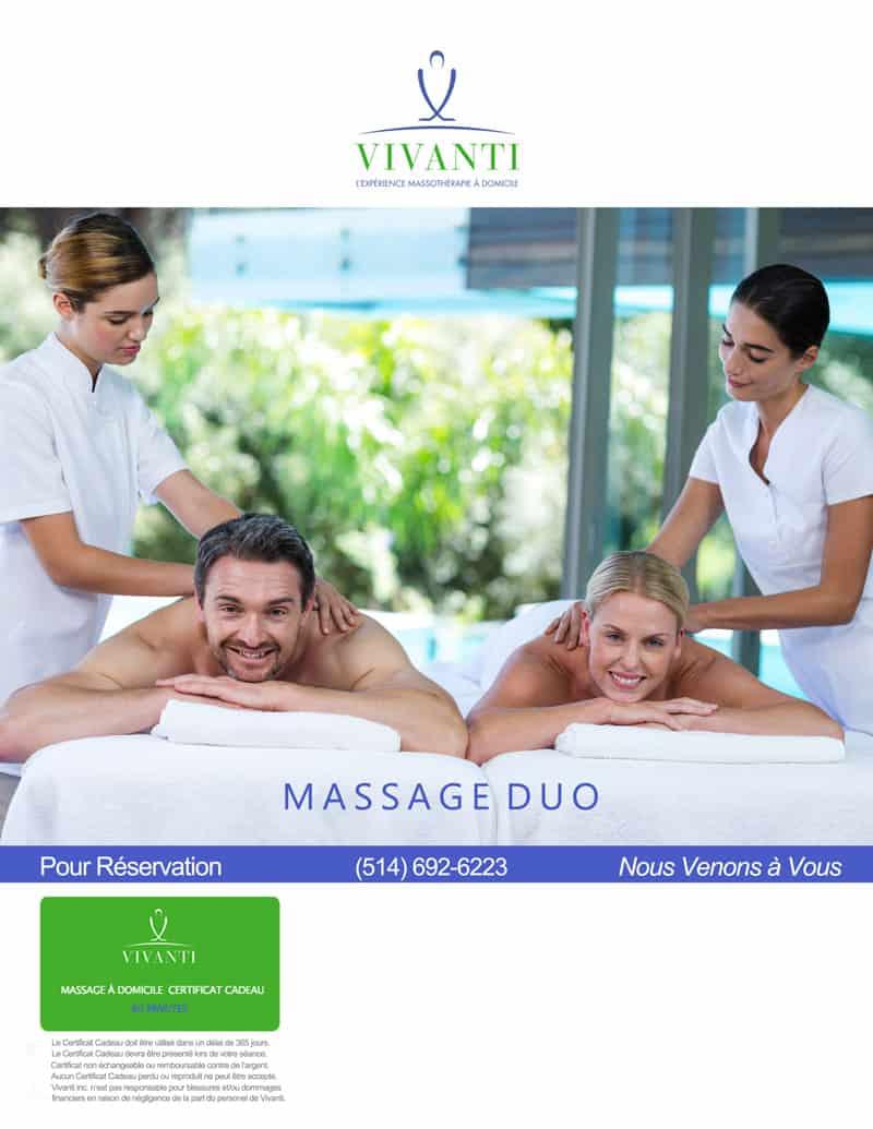 couple massage montreal