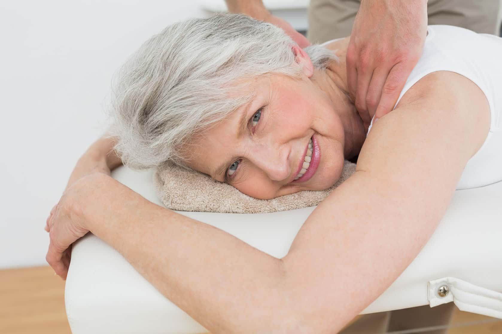 massage aînés